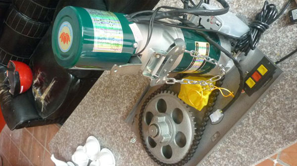 Sửa chữa motor cửa cuốn