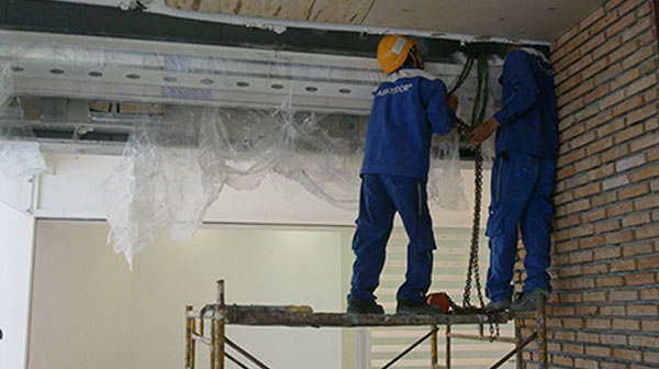 Sửa chữa cửa cuốn tại Hà Đông