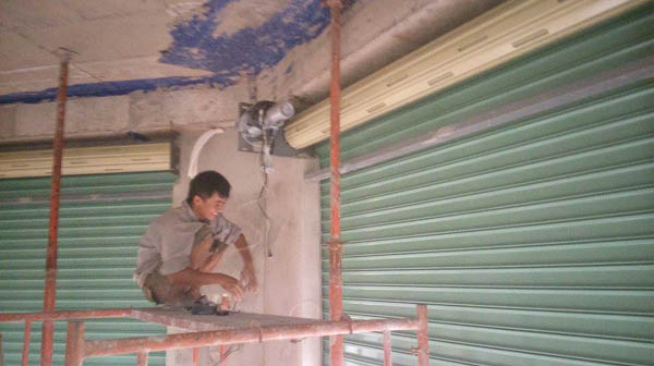 Sửa chữa cửa cuốn tại Mê Linh